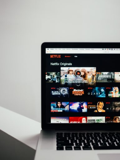 Laptop Shows Mac Netflix