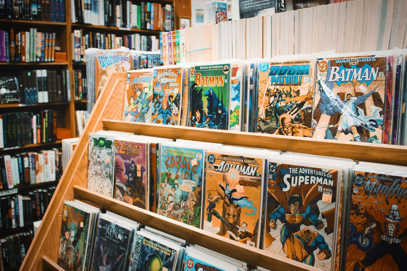 The Legacy of DC Comic Books