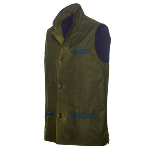 Wax Gilet Jackets side